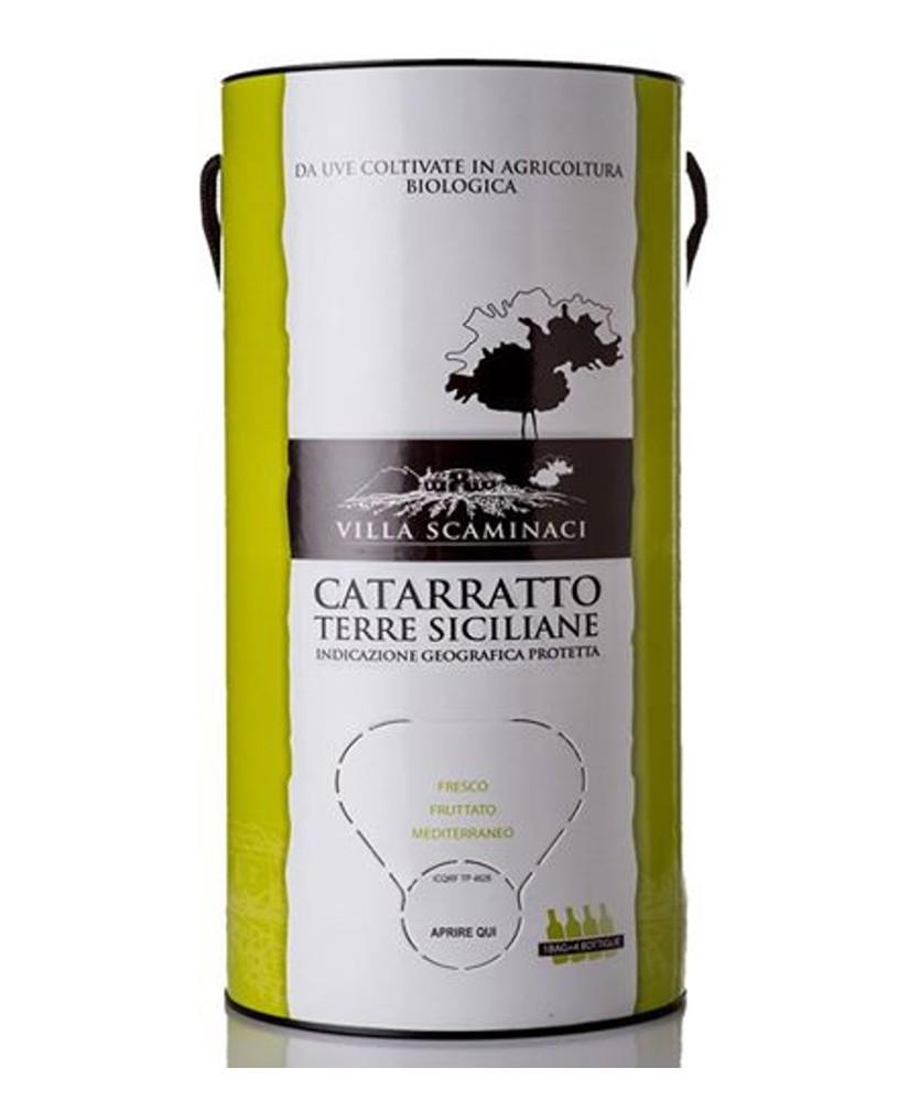 Bag in Tube 3 Lt Catarratto Bio IGP