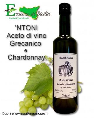 Aceto di vino pregiato Grecanico Chardonnay