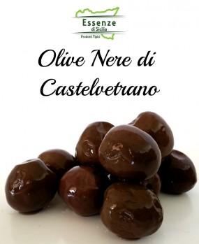 Olive nere di Castelvetrano in Salamoia