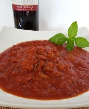 Sugo Salsiccia e Melanzane alla Siciliana