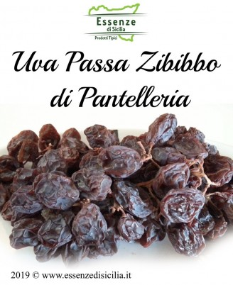 Uva passa di Zibibbo Pantelleria