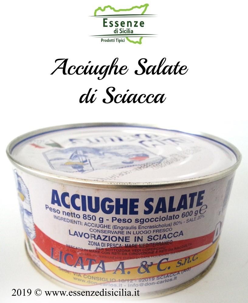 Acciughe Salate di Sciacca