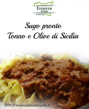 Sugo pronto Tonno e Olive di Sicilia