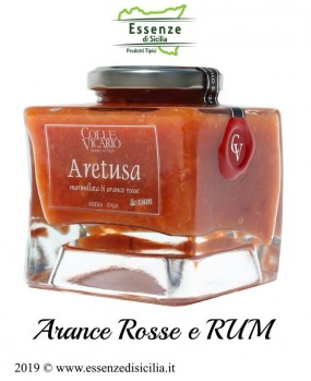 marmellata Aretusa arance rosse e rum