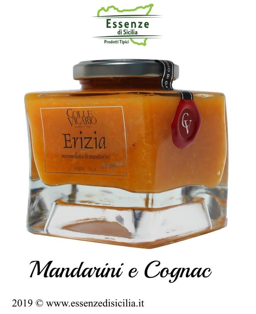 ERIZIA Marmellata di Mandarini e Cognac