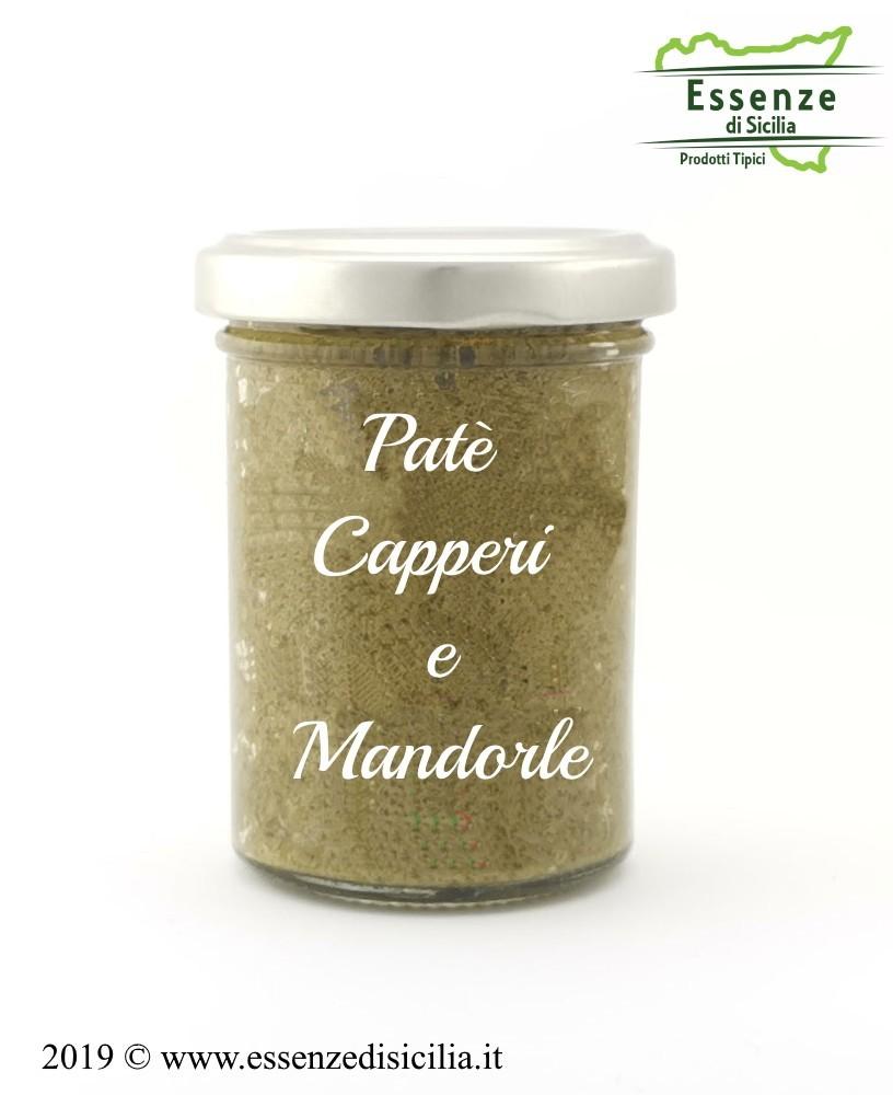 Patè Capperi e Mandorle