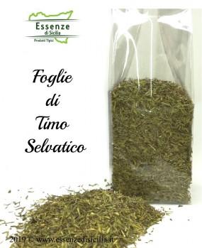 Foglie di Timo Selvatico Siciliano