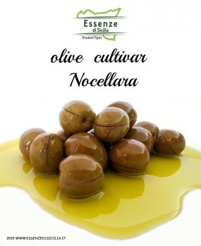olive da mensa condite Nocellara