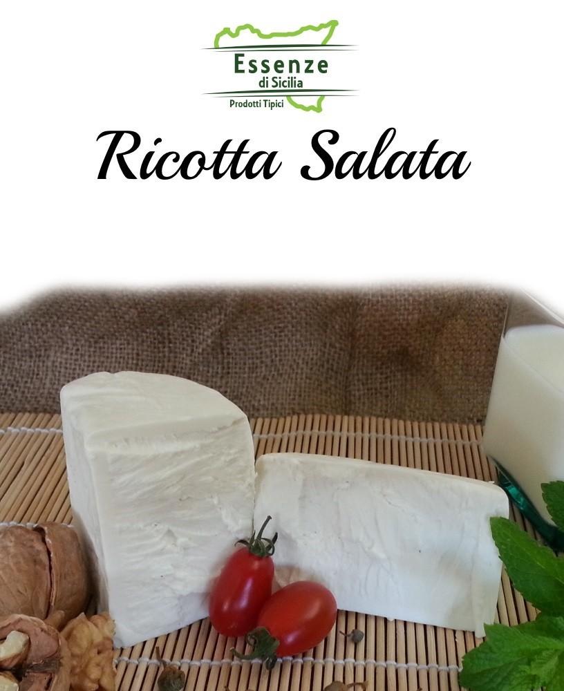 Ricotta Salata prodotta in Sicilia