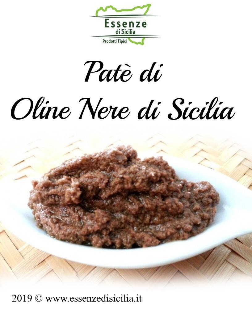 Patè di Olive Nere di Sicilia