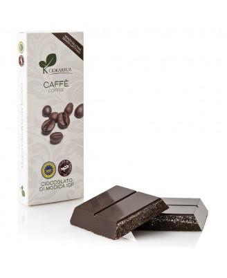 Cioccolato di Modica IGP al caffè