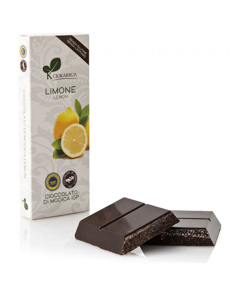Cioccolato di Modica IGP al Limone