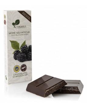 Cioccolato di Modica IGP e More Selvatiche