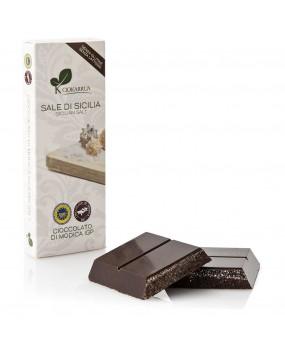 Cioccolato di Modica IGP e sale di Sicilia