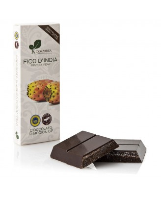 Cioccolato di Modica IGP e Fico d'India