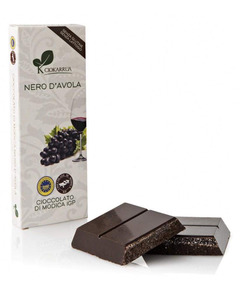 Cioccolato di Modica IGP al Nero d'Avola