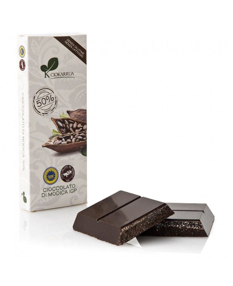 Cioccolato di Modica IGP al cacao 50%